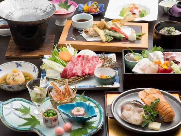 魚とお肉の特選会席