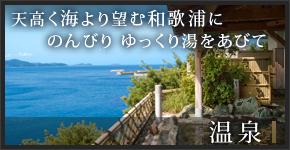 海より望む和歌浦にのんびり ゆっくり湯をあびて/温泉